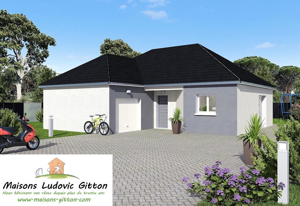 Vente – Maison – 4 pièce(s) – 86 m² – Vienne-en-Val (45510) – 157100 €
