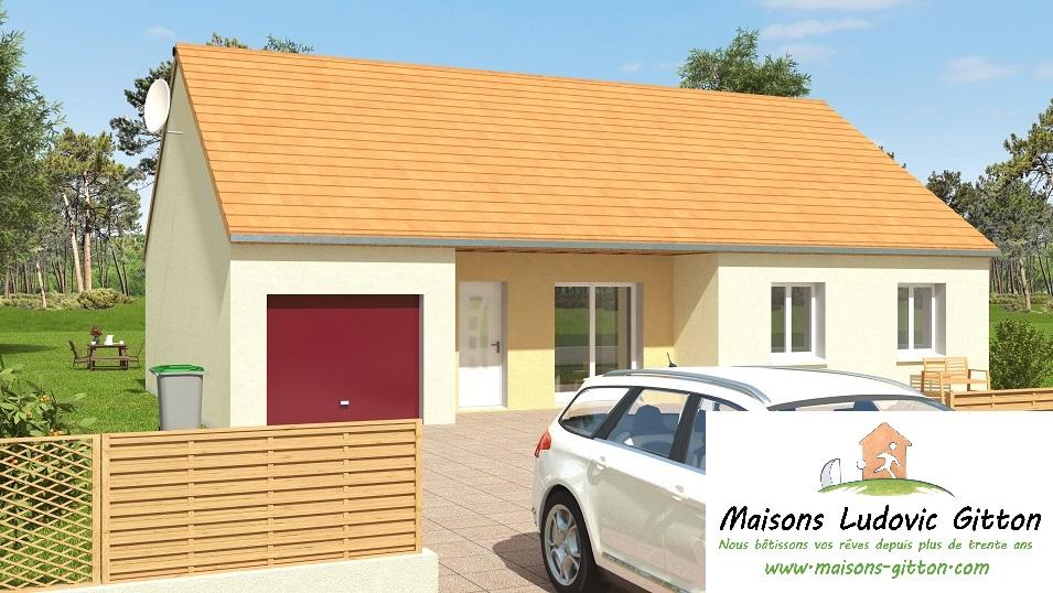 Vente – Maison – 4 pièce(s) – 99 m² – Aubigny-sur-Nère (18700) – 136460 €