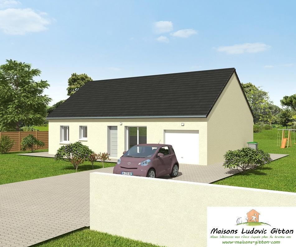 Vente – Maison – 4 pièce(s) – 86 m² – Cosne-Cours-sur-Loire (58200) – 126850 €
