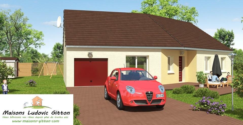 Vente – Maison – 4 pièce(s) – 101 m² – Salbris (41300) – 138400 €