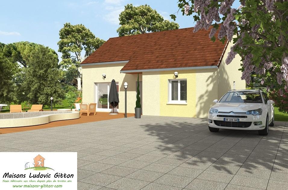 Vente – Maison – 4 pièce(s) – 80 m² – Guilly (45600) – 120740 €