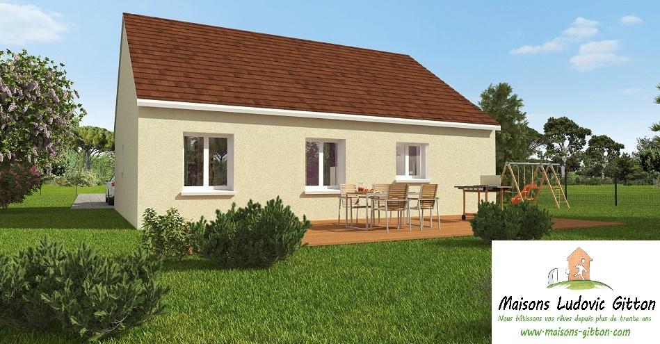 Vente – Maison – 4 pièce(s) – 80 m² – Saint-Père-sur-Loire (45600) – 134240 €