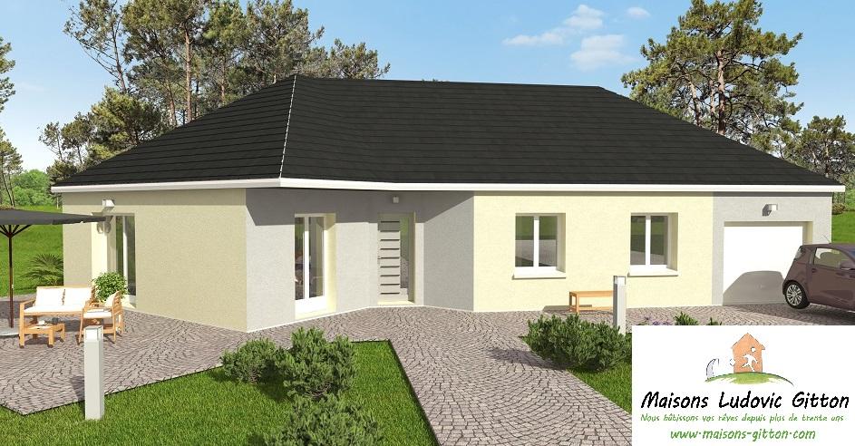 Vente – Maison – 5 pièce(s) – 105 m² – Paucourt (45200) – 174000 €