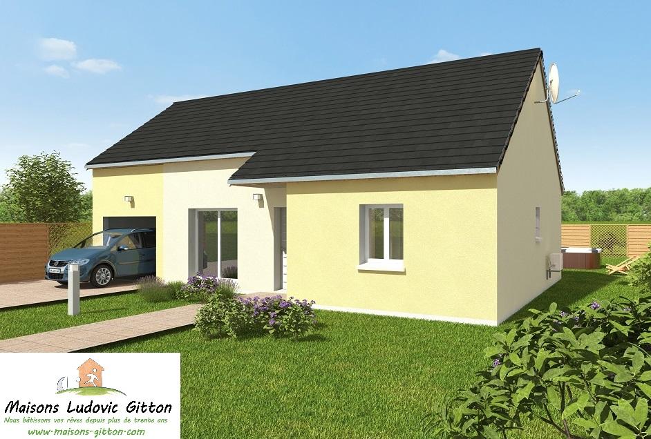Vente – Maison – 4 pièce(s) – 81.50 m² – Villemandeur (45700) – 127 650€