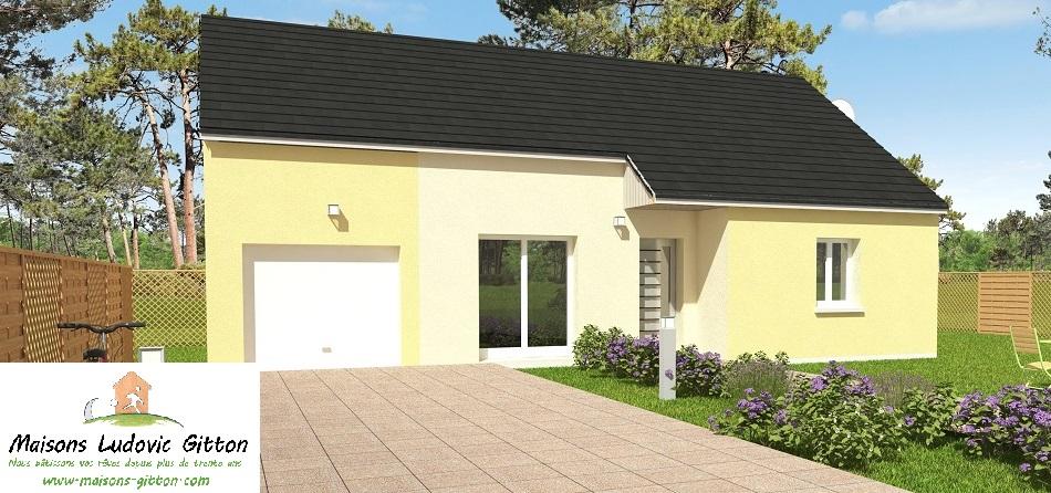 Vente – Maison – 4 pièce(s) – 81.50 m² – Amilly (45200) – 125 650€